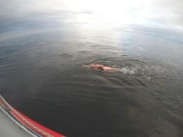 4. Clare swimming 2